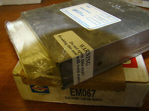 STANDARD SMP EM067 ELECTRONIC CONTROL MODULE ECU FORD NOS