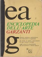 ENCICLOPEDIA DELL'ARTE GARZANTI   GARZANTI 1979