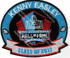 Kenny Easley Patch 2017 Pro Football Hall of Fame Seahawks UCLA HOF Super Bowl