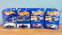 Lot 4 Cool Hot Wheels _ Porsche 959 Gleam Team Silver & Pink + Black variants !
