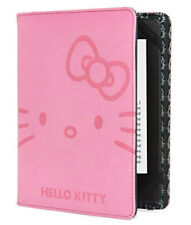 Verso Hello Kitty Deboss Face Cover Pink Kindle, Touch, Paperwhite Nook Simple T