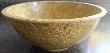 Apollo Ware Melmac Splatter Confetti Mixing Bowl~Alexander Barma~Mustard Yellow!