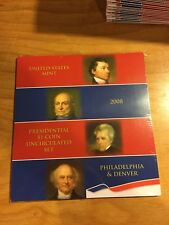 2008 US Presidential $1 Coin Uncirculated Set - United States Unopened Sealed