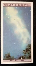 MILKY WAY  Astronomy   Original 1920's Vintage Illustrated Card