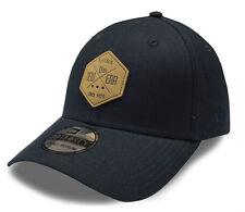 New Era Cap Own Brand Stretch Canvas Hex 39Thirty Navy Cap - New - Size M/L