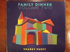 Family Dinner,, Vol. 2 [CD/DVD] [Slipcase] by Snarky Puppy (CD, Feb-2016, 2...