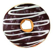 3D Milk Chocolate Donut Soft Cushion Pillow Toy Seat Pad Home Decor US Seller