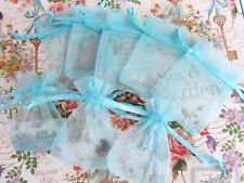 "100 Drawstring Organza Gift Bag 2x3"" Small Wedding Favor Pouch NO1-Pick 14 Color"