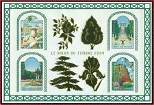 FRANCE 2004 BLOC N°71** Jardins de France, Salon du Timbre 2004, TB, sheet MNH