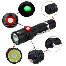 10W 5000 Lumen XM-L2 USB LED Tactical Pistol Flashlight Camping Torch Lanterns