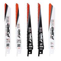 5 Piece Reciprocating Saw Blade For Wood & Metal fit Bosch, Dewalt & Makita