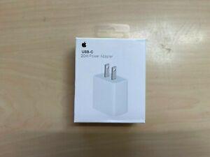 Original Apple Power Adapter USB-C - 20W  Type-C Box - iPhone 12/11/Pro/Max/iPad