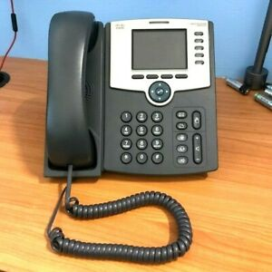 Cisco Network IP Phone 5 Lines PoE - SPA525G - CLEANED TESTED