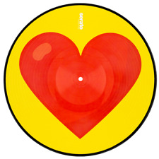 "Serato Emoji Series Control Vinyl 'heart/donut' 2 X 12"""