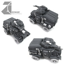 Zinge Industries APC Conv Kit 2x Axels,4x 27mm wheels, 2 forest sprues S-TAU01
