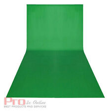 3x6m Chromakey Green screen Cotton Muslin Background Backdrop 3'' Rod Pocket Pro