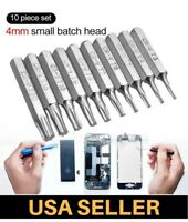 9PC micro Torx Bits Set T1 T2 T3 T4 T5 TR6 TR8 T9R T10H Xbox One 360 PS3 PS4 PSP