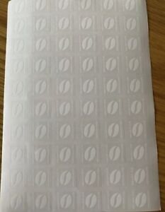 McDonald's coffee stickers 180 uv newest design no expiry date