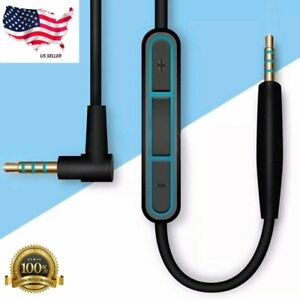Replacement Audio Cable Wire w/Mic For BOSE QuietComfort 25 QC25 QC35 Headphones