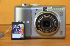 Canon PowerShot A1100 IS 12.1MP Digital Camera - Gray