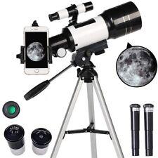 300/70mm Aperture Astronomical Telescope Refractive Finderscope Refractor Tripod