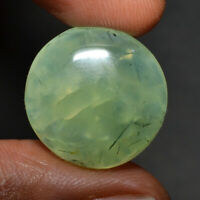 Cts. 23.35 Natural Prehnite cabochon Pear Shape Cab loose Gemstones