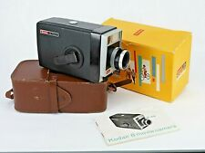 Vintage Kodak 8mm  Movie Camera boxed and With Original Case and instructions