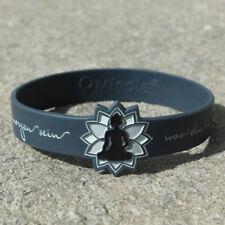Armband Mindlet Buddha blaugrau 4260381711544