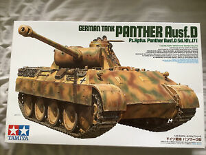 Tamiya German Panther Model Tank Ausf.D Sd Kfz.171 1:35 Scale #345