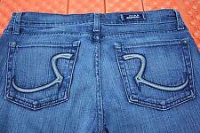 Rock & Republic Women's Low Rise Boot Cut Jeans. Label Size: 30 Actual: 34X29