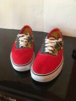 Red Vans ERA X Marvel Comics Iron Man Skateboard Shoe Low US Men Size 11 Limited