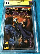 Batman: Shadow of the Bat #19 - DC - CGC SS 9.4 NM - Signed by Brian Stelfreeze