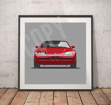 Classic BMW Z1 print - 30cm x 30cm - Heavy Weight 300gms Paper
