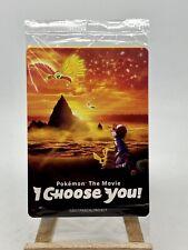 Sealed Pokemon I Choose You Movie Ashs Pikachu 3 Promo Cards Sun Moon Black Star