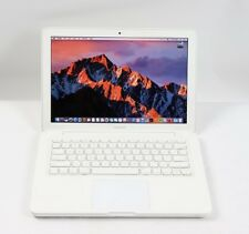 "Apple MacBook 13"" White Core 2 Duo 2.4GHz 8GB RAM NEW SSD REFURBISHED MC516LL/A"
