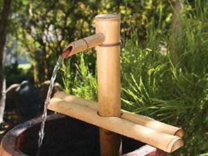 Water Fountain with Pump for Patio, Indoor/Outdoor, Adjustable 12-Inch Half