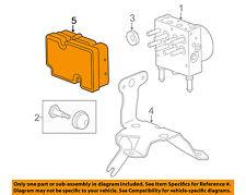 GM OEM ABS Anti-Lock Brake System-Control Module 25810528