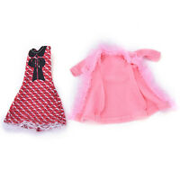 "Fashion Beautiful Handmade Party Clothes Dress for 9""  Doll Sc"