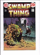 Swamp Thing #4 Berni Wrightson art May 1973