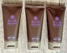 3 x 50ml MOLTON BROWN YLANG YLANG TRAVEL SIZE BODY WASH