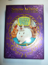 Fuzzy Tales Volume 1 Snow White and the Seven Dwarf Bunnies DVD cute rabbits NEW