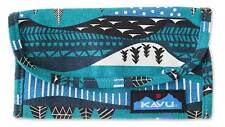 NEW KAVU BIG SPENDER WINTERSCAPE TRI FOLD WALLET CASE CANVAS FREE SHIP