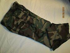 USMC Marine Corps Woodland Poplon Rip Stop Camo Trousers SMALL-REGULAR