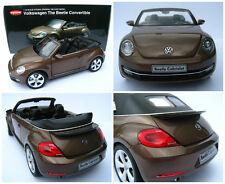 VW Beetle Cabriolet in Toffeebraun metallic * Kyosho * 1:18 * OVP * NEU