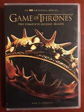 Game of Thrones - The Complete Second Season (DVD, 2012) - D1015