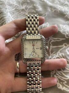 michele watch diamond