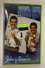 Sabor Y Romance by Hermanos Moreno (1996) (Audio Cassette Sealed)