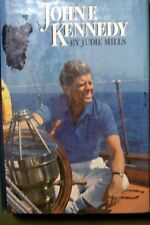John F. Kennedy by Judie Mills (1988, Hardcover) HTF Library Edition