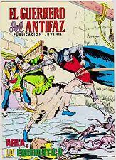 EL GUERRERO DEL ANTIFAZ (Reedición color) nº: 272.  Valenciana, 1972-1978.