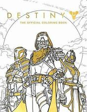 Destiny: the Official Coloring Book by Bungie (2017, Paperback)